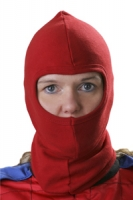 balaclava red - cagoule rouge